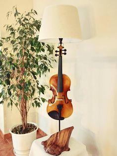 violin lamp