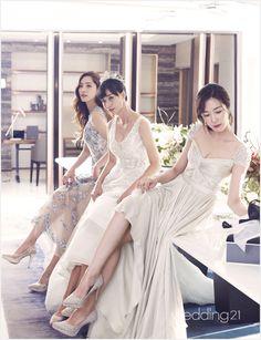 베라왕 인티메이츠, 스페셜 웨딩 파티 선보여 Formal Dresses, Wedding Dresses, Fashion, Dresses For Formal, Bride Dresses, Moda, Bridal Gowns, Formal Gowns, Fashion Styles