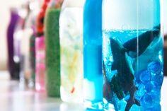 Cómo hacer botellas sensoriales paso a paso