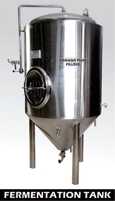 Fermentation Tank:  The Fermentation Tank is made out of stainless steel and it is insulated in its exterior by Polyurethane insulation material. The Fermentation Tank is provided with dimpled jackets to allow even cooling of the fermenting beer.For more information please click here http://prodebbrewery.com/fermentation-tank-storage-system.html