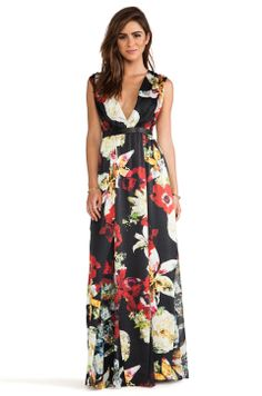 Beautiful floral maxi dress.