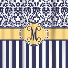 navy and yellow shower curtain. Personalized Shower Curtain Design You Own Chevron  Stripes Dots Damask Navy And Yellow Laura Ashley Emilie Blue Floral