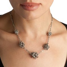 Rapt In Maille | Handmade Chainmaille Jewelry by Melissa Banks | Stainless Steel | Chicago — PURE Five-Knot Necklace