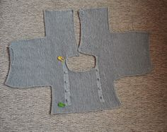 Tutorial vestido con jersey de punto con volantes y falda de tela-talla 3-6 meses ( I parte)