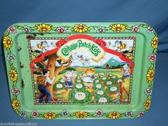 1983 Original Appalachian Art Works Cabbage Patch Kids TV Tray With Folding Legs Kids Tv Tray, Tv Trays, Serving Trays, 80s Kids, Kids Toys, Baby Toys, Cabbage Patch Kids Dolls, Disney Collector, Childhood Days
