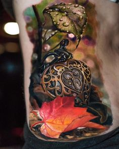 Beautiful realistic tattoo done by Yomicoart ##Tattoos - psyk02mikmak07 - Google+