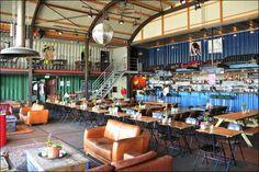 Pllek Amsterdam Noord: International cafe bar restaurant