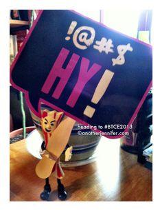 Wordless Wednesday: Heading to #BTCE2013