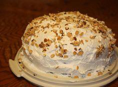 Almond Joy Layer Cake