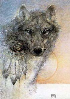 Wolf Spirit - 1988 - Susan Seddon Boulet