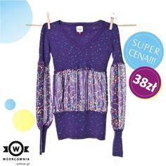 CENA DNIA: Wzorzysty sweterek #Only