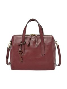 Fossil Fossil Sydney Leather Satchel | very.co.uk