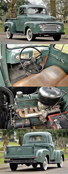 1949 Ford F1 Pickup, Beautiful Restoration. Daily Driver