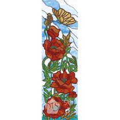 Канва с рисунком для бисера Декоративные маки 1 Т-0671 #beads #beadwork #embroidery #mimistitch
