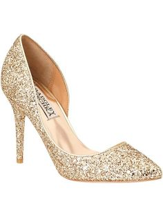 0d3a65451e7fd Gold Sparkle Wedding Shoes - A dilemma of brides is what color to choose  for their sneakers. With the recent trend moving