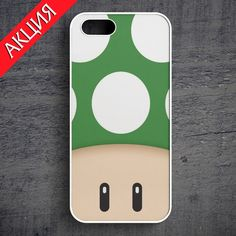 """""""1UP Green"""" Case for iPhone 4/4S, 5/5S, 6. Worldwide shipping. Store's url http://vk.com/market-71763847"""