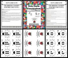 ERIC CARLE GROUCHY LADYBUG COMPARE GAME (COMMON CORE ALIGNED) - TeachersPayTeachers.com