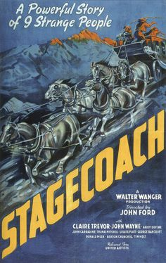 John Wayne Movie posters   ... do Cinemaxunga: Vintage » John Wayne Movie Posters » Stagecoach