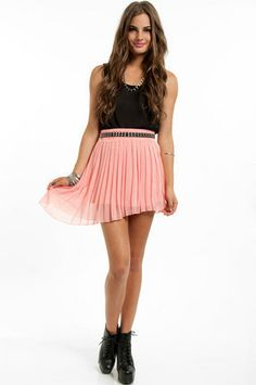 #Tobi                     #Skirt                    #Pleat #Halfway #Skirt    Pleat Me Halfway Skirt                              http://www.seapai.com/product.aspx?PID=1189424