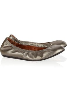 Lanvin ballet flats:  I lovvvve their ballet flats!!! I have them in six different colors b/c they're so great!!!! I've worn this color into the ground!!! -EK