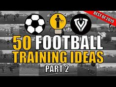 This is the first part of a BEST OF 2019 video compilation with 50 training ideas for football / soccer coaches. What is your favorite soccer training exerci. Football Drills, Football Soccer, Soccer Sports, Nike Soccer, Soccer Cleats, College Football, Volleyball Tips, Soccer Tips, Golf Tips