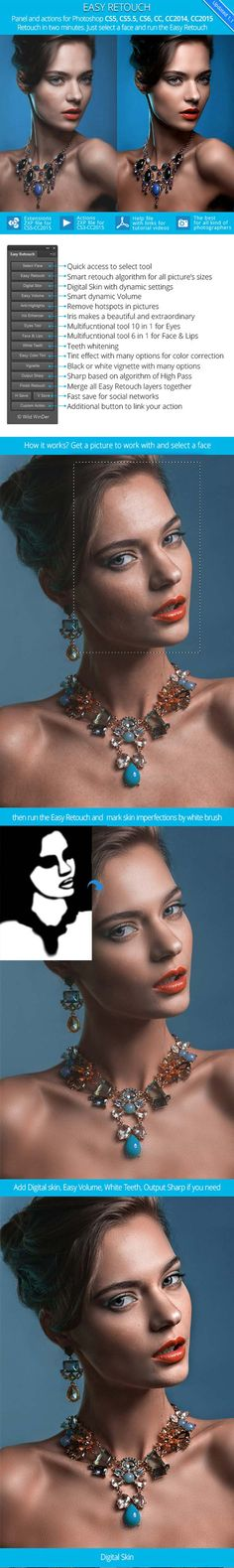Easy Retouch – Panel and Actions