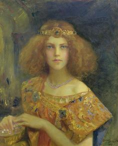 "Gaston Bussiere (French, 1862-1929), ""Salammbo"" (1907) by sofi01, via Flickr"