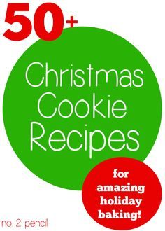 More than fifty amazing Christmas cookie recipes to kick-off the holiday season! Pin this one for later, so many great ideas!