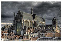 Hooglandse Kerk (The Church of St. Pancras) in Leiden,The Netherlands   by Jörg Dickmann, via Flickr