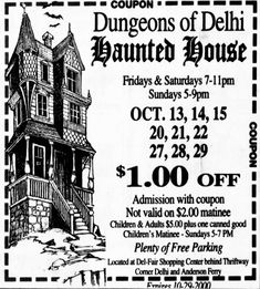 Haunted Attractions, Wax Museum, Haunted Houses, Horror, Classic, Derby, Classic Books