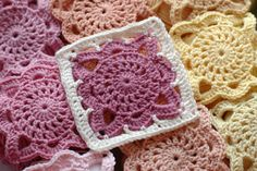 Serendipity Patch: Crochet (this similar to the black, gray, and white ones I pinned, but this link has the pattern!)