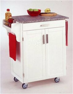 Home Styles 9001-0023 Create-a-Cart 9001 Series Cuisine Cart with Salt and Pepper Granite Top, White, 32-1/2-Inch Home Styles,http://www.amazon.com/dp/B0007N2PTO/ref=cm_sw_r_pi_dp_GYnCtb0C06VZ512T