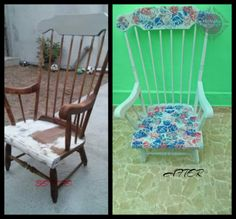Outdoor Chairs, Dining Chairs, Outdoor Furniture, Outdoor Decor, Upcycled Furniture, Chalk Paint, Wordpress, Furnitures, Home Decor