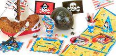 """Addobbi e decorazioni per feste a tema """"Teschio Pirata"""" su VegaooParty"""