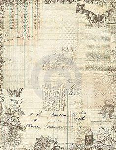 Marco floral del libro de recuerdos de la vendimia botánica