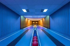 "Robert Goetzfried is an professional photographer and graphic designer currently based in Munich, Germany. For his project ""Bowling Alleys"", Robert has traveled all over Germany to capture the coun…"