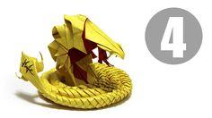 Origami Devil Cobra part 4 of 5