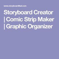Storyboard Creator   Comic Strip Maker   Graphic Organizer