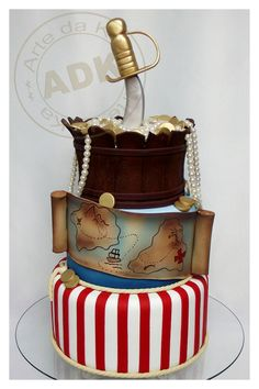 A WOW! pirate cake! |  by Arte da Ka