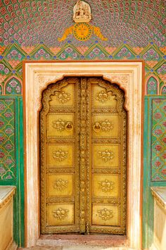 golden door, jaipur by Cait Sith, via Flickr