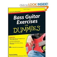 Bass Guitar Exercises For Dummies [Paperback]