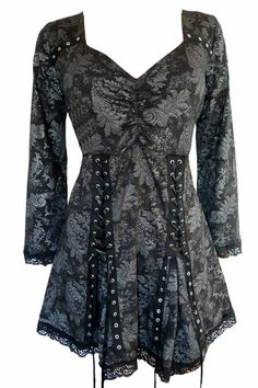 Goth:  #Goth top.  Dare to Wear Gothic and Victorian inspired fashion.
