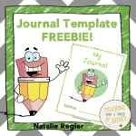 "Blog Post with Freebie - Have you thought about using journals with your students but are unsure of where to begin? Do you use journals with your students but are looking for new ideas? If you answered ""yes"" to either of these questions, check out the ideas in this blogpost."