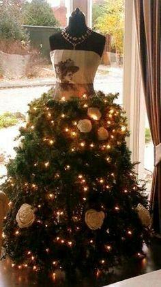 Elegante decoración para Navidad