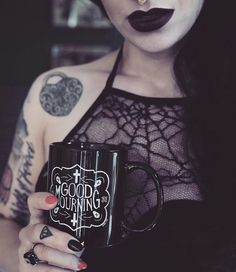 Mug by kmsxco 🕷 #honeybat #halloween #spiderweb #goth #gothic #gothfashion #gothbeauty #gothicfashion #gothicmakeup #nugoth #witch #witchcraft #witchesofinstagram