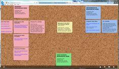 Noteapp ex Corkboard. Un tableau de liège pour vos post-it et le travail #collaboratif