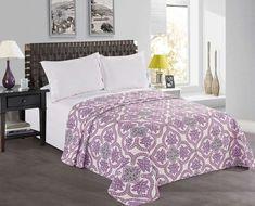 Cuvertura reversibila Vivian Purple / Pink #homedecor #interiordesign #inspiration #purple #bedroom #decoration #homedesign Homedesign, Comforters, Blanket, Decoration, Bed, Inspiration, Furniture, Home Decor, Creature Comforts