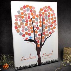 Obraz na podpisy gości. #obraz #wesele #ślub #księgagości #eprezenty  http://bit.ly/28OcBom