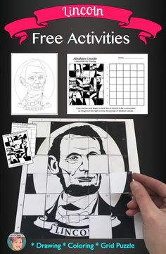 Free Abraham Lincoln art integration resources for classroom teachers. Great art projects for President's Day.