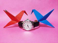 참새 종이접기, Easy Origami Beija-flor